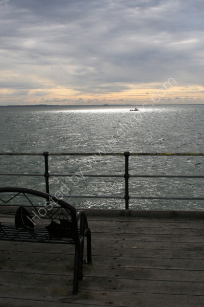 Southend Pier - View from New Entrance
