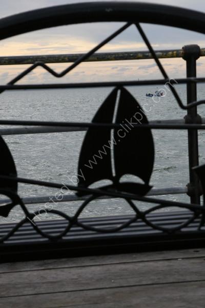 Southend Pier Head - Seat Detail