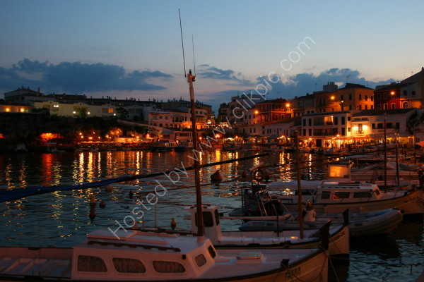 Cales Fonts @ Dusk - Menorca
