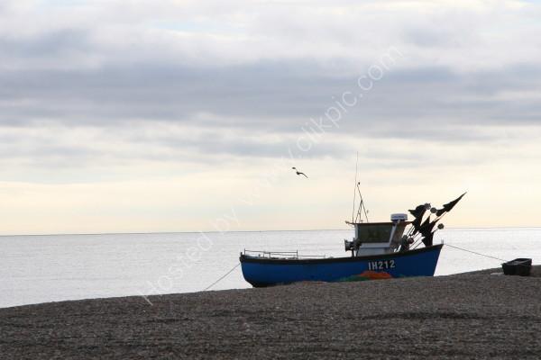 Fishing Boat @ Aldeburgh Beach - Suffolk