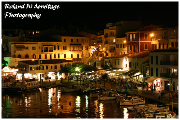 Cales Fonts @ Night- Menorca 2005