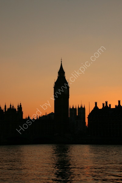 Houses of Parliament - Silhouette 2