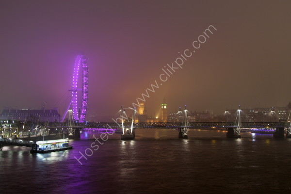 London City from Waterloo Bridge