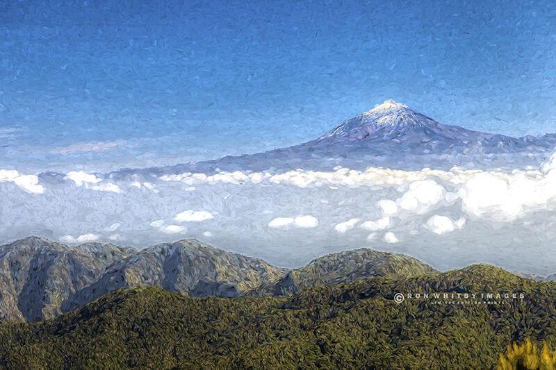 Mount Teide from La Gomera