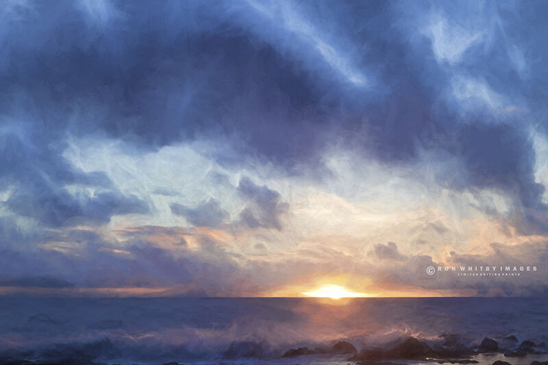 Sunset Over El Hierro no 1