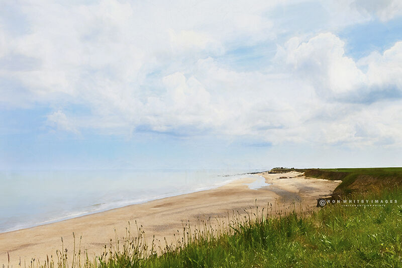 Beach at Happisburgh - Norfolk no 2