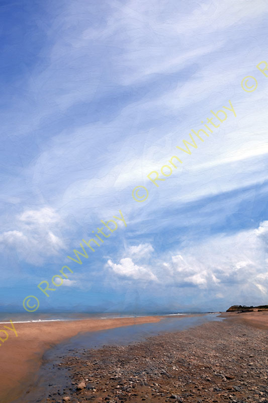 Beach at Happisburgh, Norfolk #1