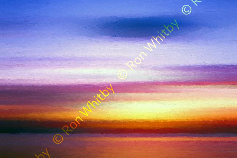 Sunset Over North Malé Atoll - Maldives
