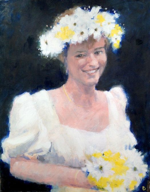 Emma as a Bridesmaid