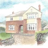 House portrait: 1930's house. A4