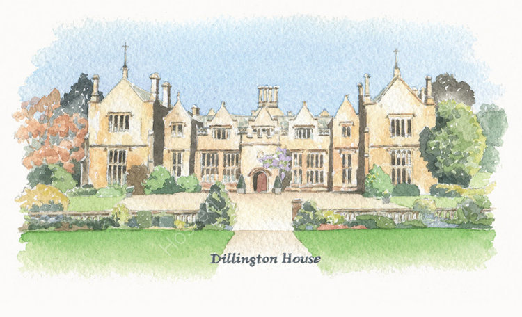 houseportrait_sallybarton_watercolour_DillingtonHouse