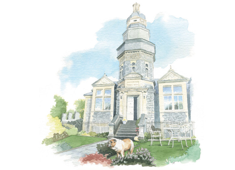 commissionahouseportrait_sallybarton_oldbathhouse_watercolour