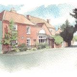 House portrait: Regency village dwelling. A5