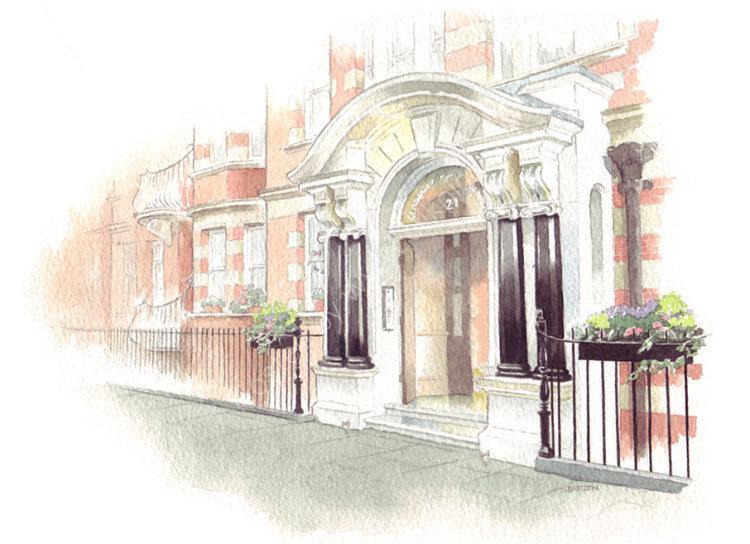 House portrait: London apartment. A4
