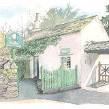 House portrait of lakeland shop. A4