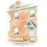 House portrait: Greyhound Row. A5
