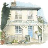 House portrait: lock cottage. A5