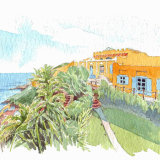 House portrait: Mediterranean Villa. A5