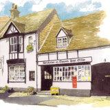 House portrait: Village Post Office. A4