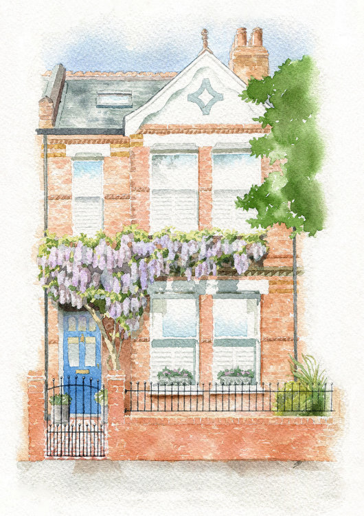 houseportrait_sallybarton_watercolourportrait