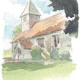 Portrait: St Clement's Church. A5