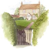 House portrait: Village House. A3