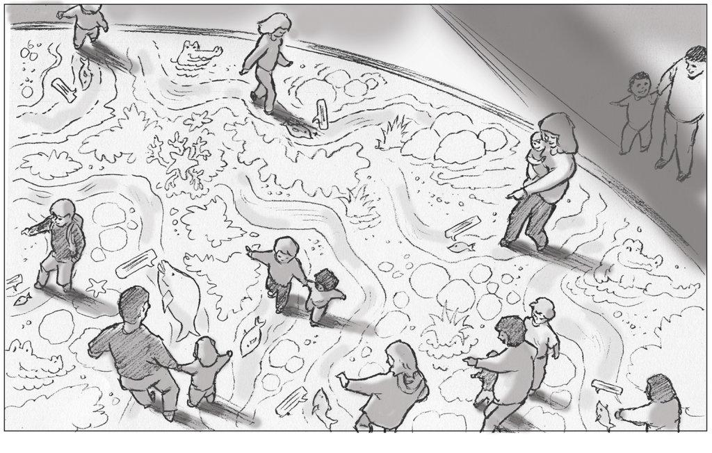 sallybarton_storyboards_VR_MangroveSwamp_pencil