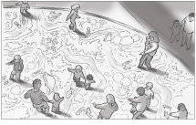sallybarton_storyboards_VR_MangroveSwamp_pencil