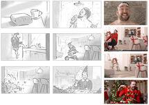 storyboards_sallybarton_SkyCinema_JasonManford_Christmas_Elf