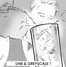 Line & greyscale 1