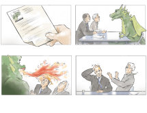 SallyBarton_Storyboards_Recruitment_HandDrawn_Dragon