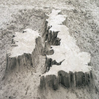 British Isles Sandcastle