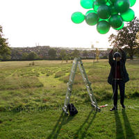 The first attempt to fly a camera above Gladstone Park Meadow Cut 1