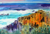Spring on The Giants Causeway - SOLD