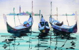 Three Gondolas - SOLD