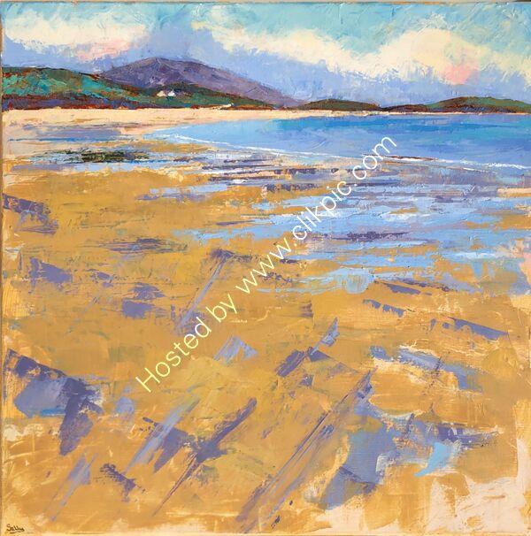 Wild Atlantic Route - Oil on canvas - 50 x 50