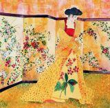 The Gold Klimt Dress - SOLD