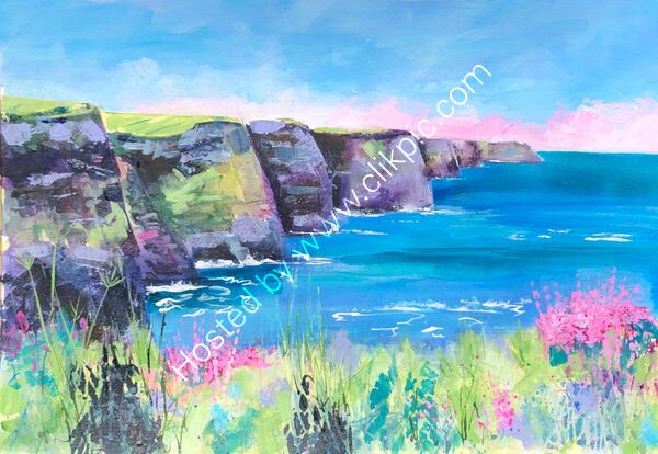 Cliffs of Moher - Acrylic - 70 x 55