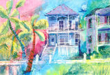 The Blue House - Galveston - SOLD