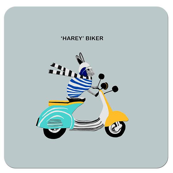 COA009 ... 'Harey' Biker