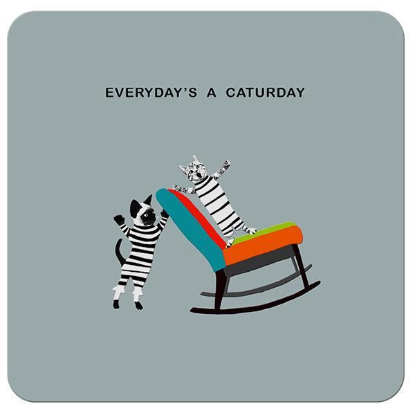 COA024 ... Everyday's a Caturday