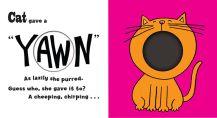 """""""Cat"""" second spread in """"Yawn."""""""