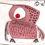Owl, 50 x 45mm