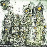 Salt Flowers, 125 x 125mm