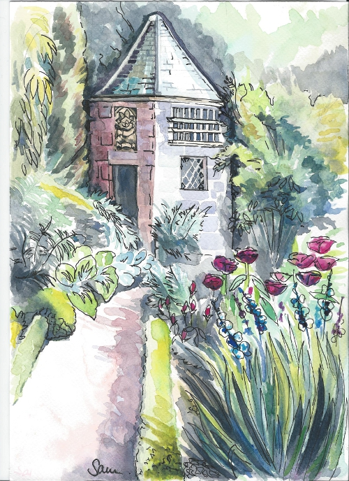 Garden at Crathes