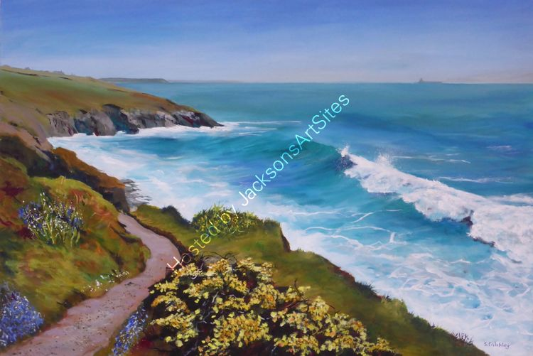 Spring on Breageside Cliffs, Porthleven