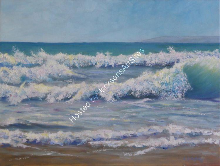Sun and surf, Praa Sands