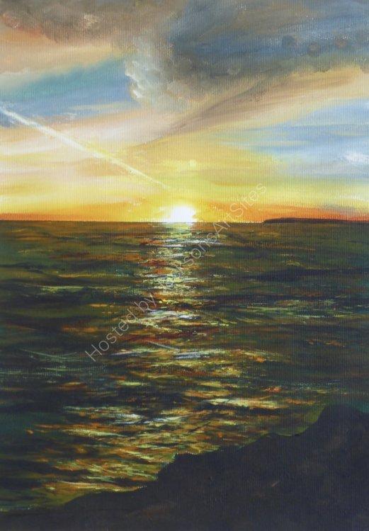 Rinsey sunset