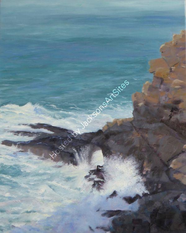 Crashing sea, Botallack