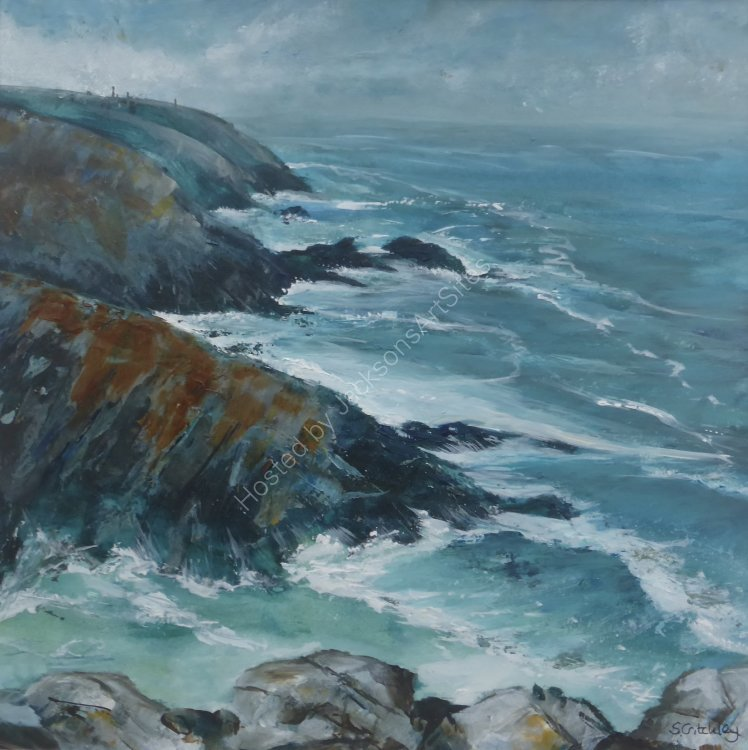 Watching the storm come in, Pendeen